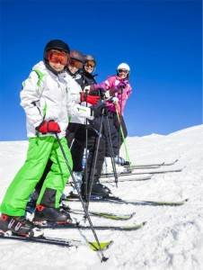 Les colos neige 2018 ski - EJN02 neige