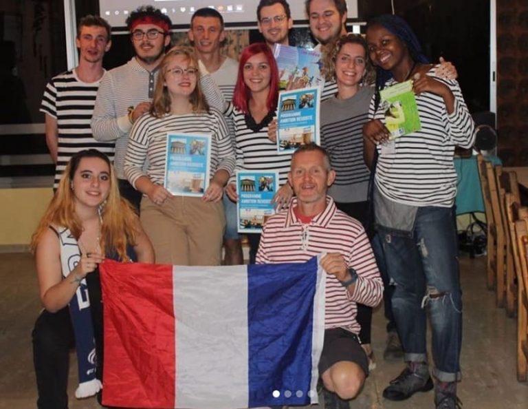 Les participants français pour la soirée Culturelle