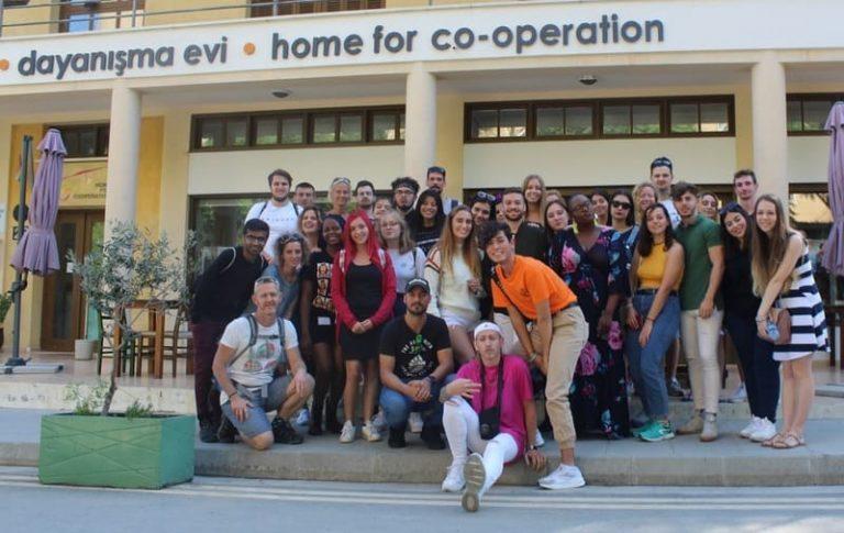 Visite de la Maison de la co-opération, Nicosie