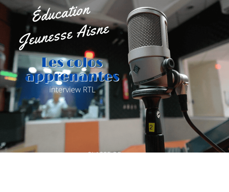 Éducation Jeunesse Aisne Interview RTL