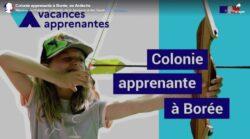 Colos apprenantes- Education Jeunesse Aisne - Borée-aout 2020